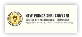 NEW PRINCE SHRI BHAVANI COLLEGE OF ENGINEERING & TECHNOLOGY